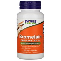 Now Foods - Bromelain, 500 mg, 60 Veggie Caps