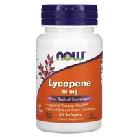 Now Foods Lycopene 10mg, 60 gels