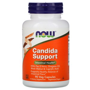Now Foods Candida Clear Formula, 90 caps