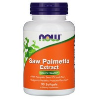 Now Foods Saw Palmetto Extract 80mg, 90 gels