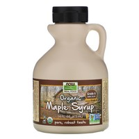 Now Foods - Organic Maple Syrup, Grade B, Deep Rich Flavor, 16 fl oz (473 ml)