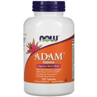Now Foods ADAM Superior Men, 120 tablets