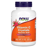 Now Foods - Vitamin C Crystals, 8 oz (227 g)