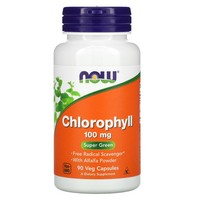 Now Foods Chlorophyll, 90 caps / 100 mg