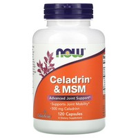 Now Foods Celadrin & MSM, 120 caps / 500mg