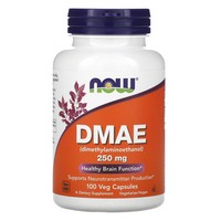 Now Foods - DMAE, 250 mg, 100 Vcaps