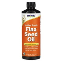 Now Foods Flax Seed Oil, 24 oz