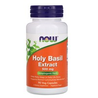 Now Foods Holy Basil Extract, 90 Vcaps