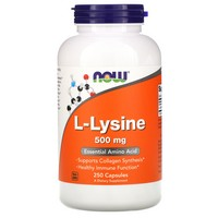 Now Foods L-Lysine, 250 caps / 500mg