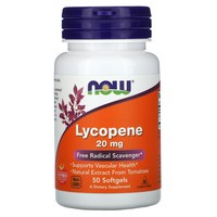 Now Foods Lycopene, 50 softgels / 20 mg