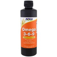 Now Foods Omega 3-6-9, Certified Organic, 16 fl oz (473 ml) by ClubNatural