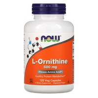 Now Foods L-Ornithine, 120 caps / 500 mg