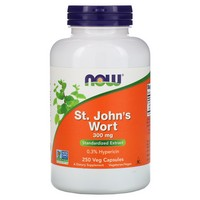 Now Foods St. John's Wort 250 Caps / 300 Mg