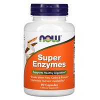 Now Foods - Super Enzymes, 90 Capsules