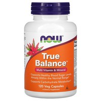 Now Foods - True Balance, High Potency Multiple, 120 Capsules