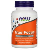 Now Foods True Focus, 90 caps