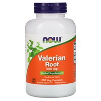 Now Foods - Valerian Root, 500 mg, 250 Capsules