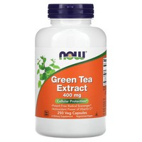 Now Foods Green Tea Extract, 250 caps / 400mg