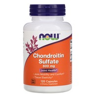 Now Foods Chondroitin Sulfate 600 mg, 120 caps