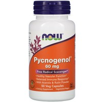 Now Foods Pycnogenol 60 mg, 50 vcaps
