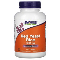 Now Foods Red Yeast Rice 1200 mg, 120 Tabs