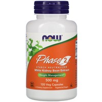 Now Foods Phase 2 Starch Neutralizer 500mg, 120 vcaps