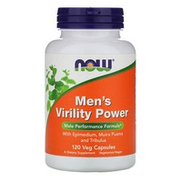 Now Foods - Men's Virility Power, 120 Capsules