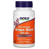 Now Foods Grape Seed Extract 250 mg, 90 Vcaps
