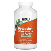 Now Foods Potassium Gluconate Powder - 1 lb.