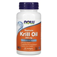 Now Foods - Neptune Krill Oil, 500 mg, 60 Softgels