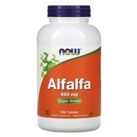 NOW Foods, ALFALFA 10 GRAIN 500 TABS