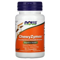 Now Foods ChewyZymes - 90 Chewables