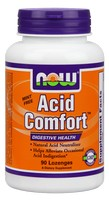 Now Foods Acid Comfort - 90 Lozenges
