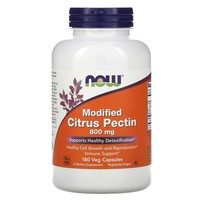 NOW Foods - Modified Citrus Pectin 800 mg. - 180 Vegetarian Capsules