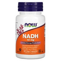 Now Foods - NADH, 10 mg, 60 Veggie Caps