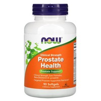 Now Foods - Prostate Health, Clinical Strength, 90 Softgels