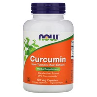 NOW Foods, CURCUMIN EXT 95% 700mg 120 VCAPS
