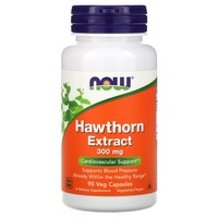 Now Foods Hawthorn Extract 300 mg - 90 Vcaps