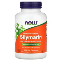NOW Foods - Silymarin Milk Thistle Extract 300 mg. - 200 Vegetarian Capsules