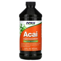 Now Foods - Acai Liquid Concentrate, 16 fl oz (473 ml)