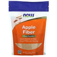 Now Foods Apple Fiber with Apple Pectin, 12 oz (340 g) by ClubNatural