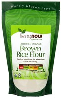 Now Foods Brown Rice Flour - 1 lb. - Organic, Non-GE