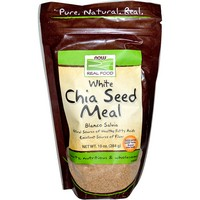 Now Foods - Real Food, White Chia Seed Meal, 10 oz (284 g)