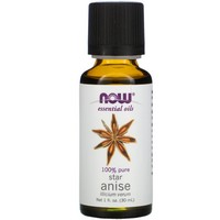 Now Foods - Essential Oils, Anise, 1 fl oz (30 ml)
