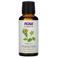 Now Foods - Essential Oils, 100% Pure Marjoram Oil, 1 fl oz (30 ml)