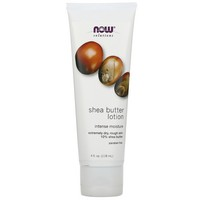 Now Foods - Solutions, Shea Butter Lotion, 4 fl oz (118 ml)