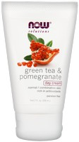 Now Foods Green Tea and Pomegranate Day Cream - 2 oz.