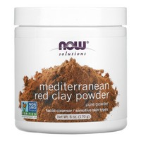 NOW Foods, RED CLAY 6 OZ.