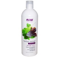 Now Foods - Solutions, Herbal Revival Shampoo, 16 fl oz (473 ml)