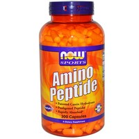 Now Foods - Sports, Amino Peptide, 300 Capsules